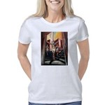 running athletics fine art Women's Classic T-Shirt