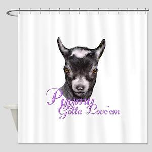 Pygmy Goat Gotta Love 'em Shower Curtain
