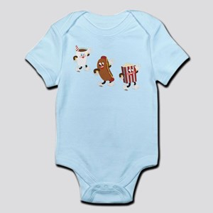 Soda Hotdog Popcorn Infant Bodysuit