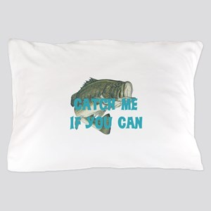 Catch me bass Pillow Case