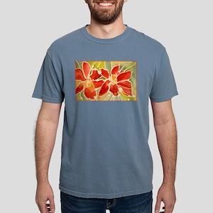 Red orchids! Beautiful art! Mens Comfort Colors Sh