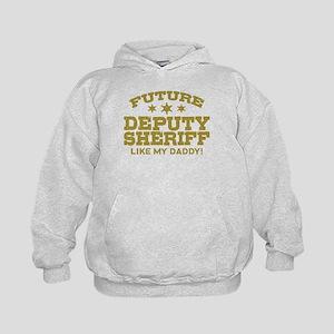 Future Deputy Sheriff Like My Daddy Kids Hoodie