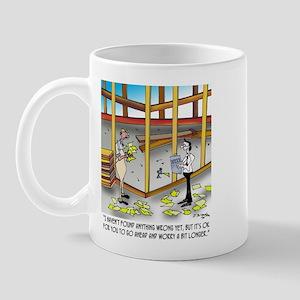 Go Ahead, Worry A Bit Longer Mug