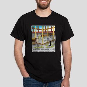 Go Ahead, Worry A Bit Longer Dark T-Shirt