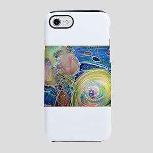 Music! Bright, fun art! iPhone 7 Tough Case