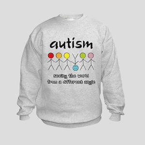 Autism Angle Kids Sweatshirt