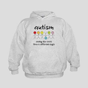 Autism Angle Kids Hoodie