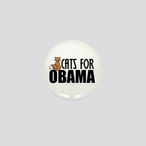 Cats for Obama Mini Button