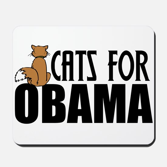 Cats for Obama Mousepad