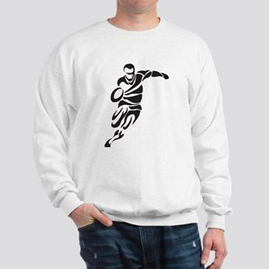 Rugby Player Sweatshirt