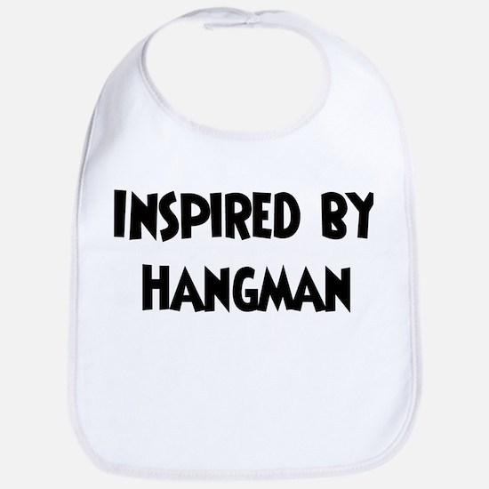 Inspired by Hangman Bib
