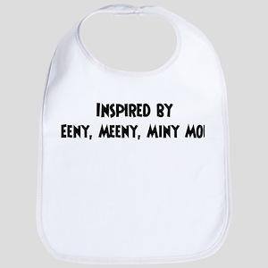 Inspired by Eeny, Meeny, Miny Bib