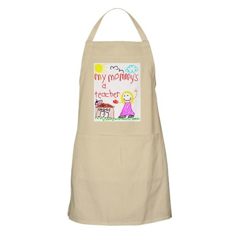 """Mommy Teacher"" Series BBQ Apron"