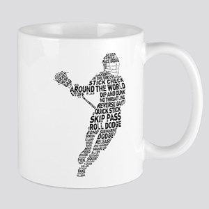Lacrosse LAX Player Mug