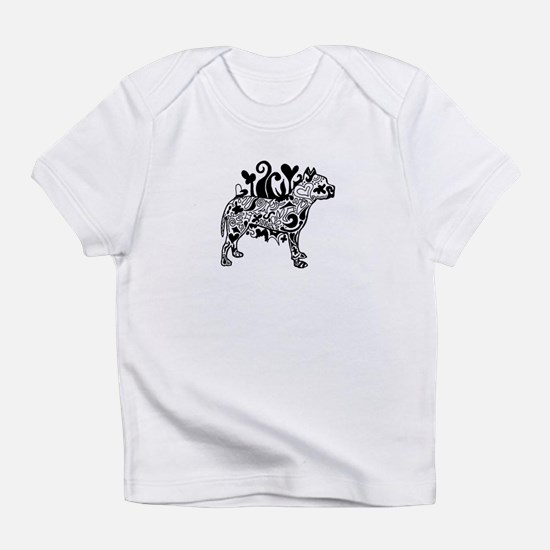 Cute Dog advocate Infant T-Shirt