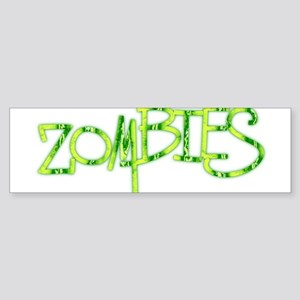 More.. Zombies! Sticker (Bumper)