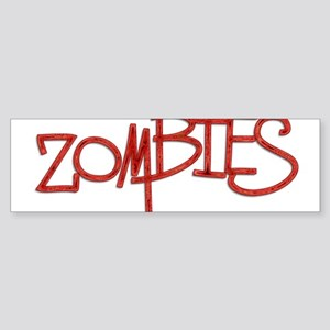 The Last of the..Zombies!.. p Sticker (Bumper)