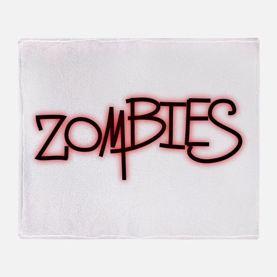 The Last of the..Zombies!.. p Throw Blanket