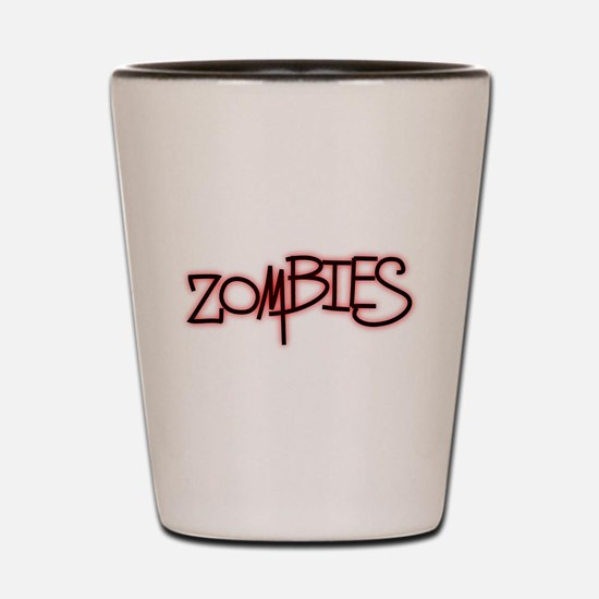 The Last of the..Zombies!.. p Shot Glass