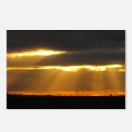 Amarillo Sunset Postcards (Package of 8)