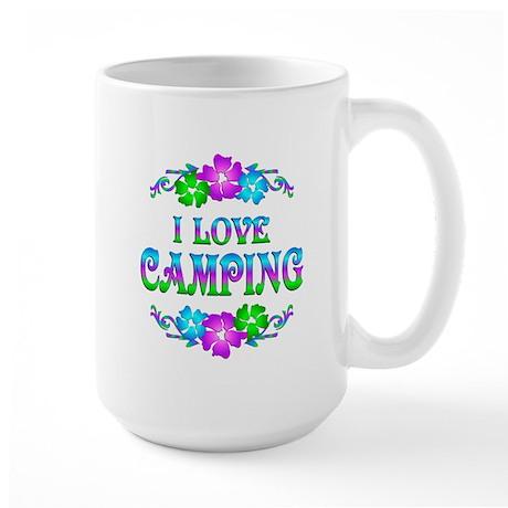 Camping Love Large Mug