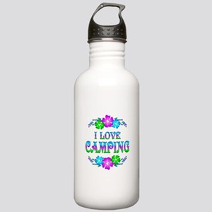 Camping Love Stainless Water Bottle 1.0L