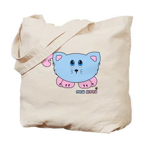 Mew Kitty Pudgie Pet Tote Bag