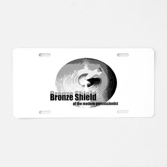 Bronze Shield Aluminum License Plate