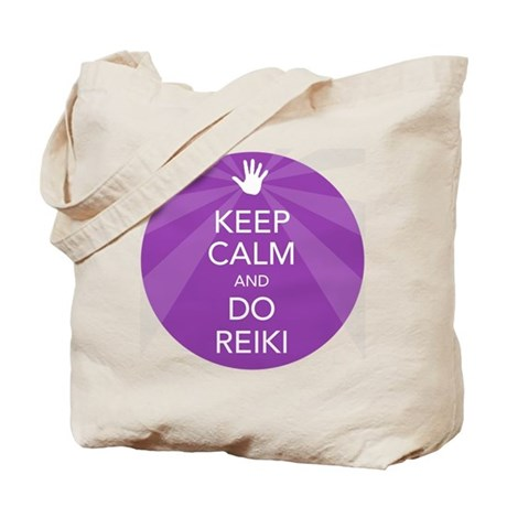 Keep Calm and Do Reiki Tote Bag