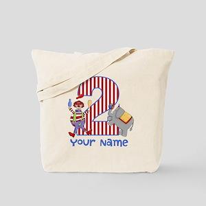 2nd Birthday Circus Tote Bag