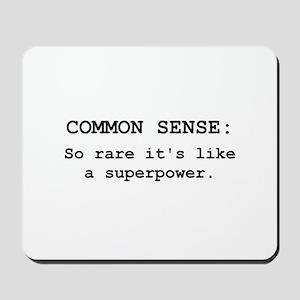 Common Sense Mousepad
