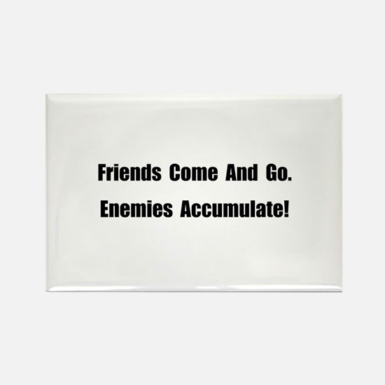 Enemies Accumulate Rectangle Magnet (10 pack)