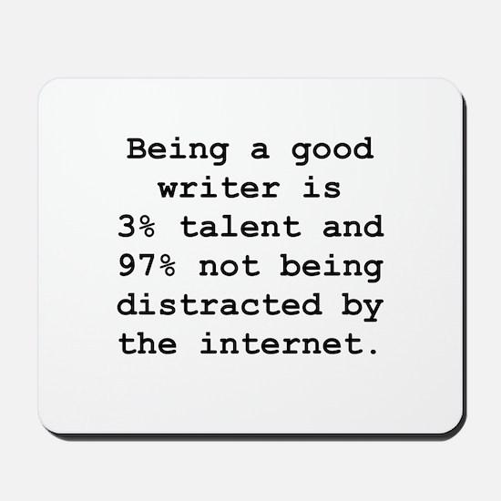 Good Writer Mousepad