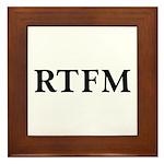RTFM - Framed Tile