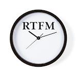 RTFM - Wall Clock