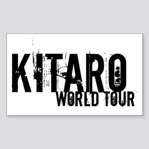 LIMITED EDITION ! WORLD TOUR Rectangle Sticker