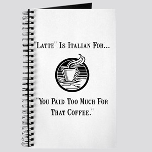 Latte Italian Journal