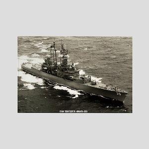 USS TRUXTUN Rectangle Magnet
