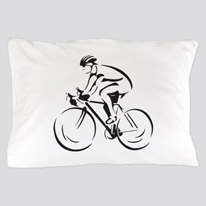 Bicycling Pillow Case