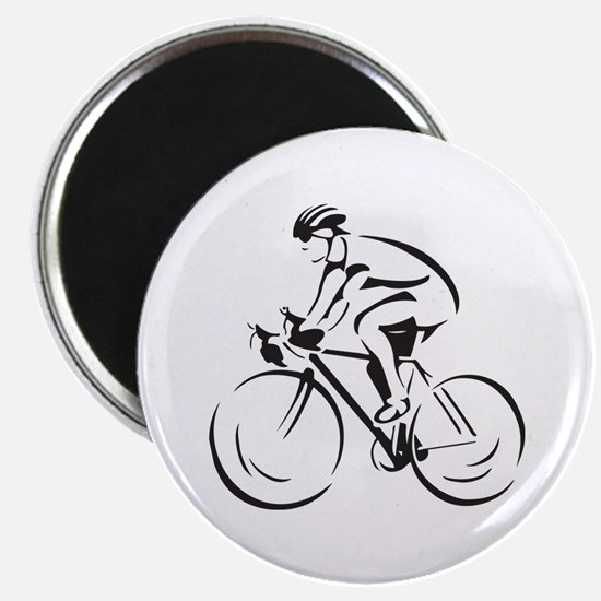 Bicycling Magnet