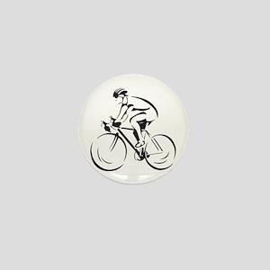 Bicycling Mini Button