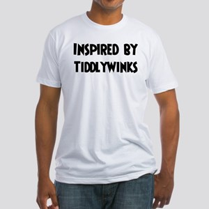 Inspired by Tiddlywinks Fitted T-Shirt