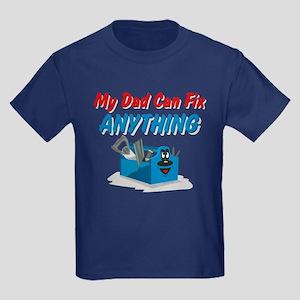 Fix Anything Dad Kids Dark T-Shirt