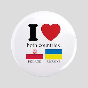 """POLAND-UKRAINE 3.5"""" Button"""