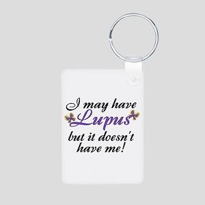 I May Have Lupus Aluminum Photo Keychain