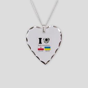 POLAND-UKRAINE Necklace Heart Charm