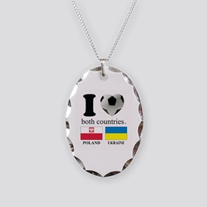 POLAND-UKRAINE Necklace Oval Charm