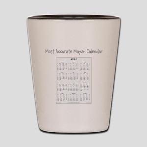 Mayan Calendar Shot Glass