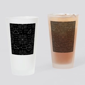 Trig and Triangles Drinking Glass