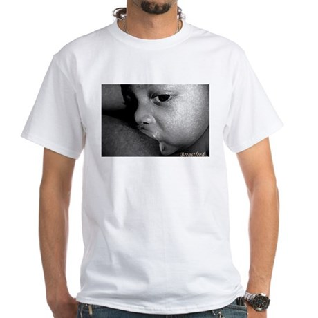 African American BF Advocate White Tee